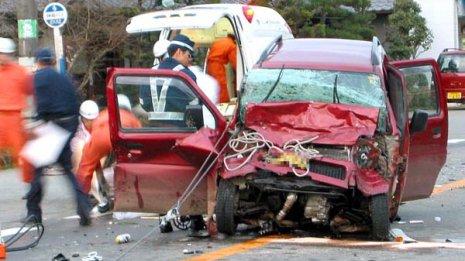 キッカケは交通事故だった…(写真はイメージ)