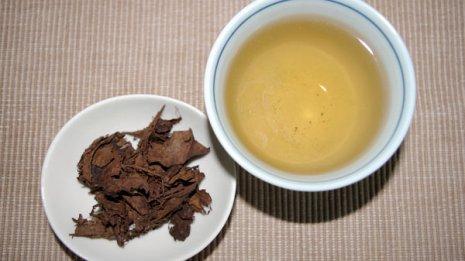 富山県のバタバタ茶