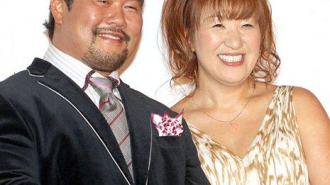 北斗晶と佐々木健介夫妻