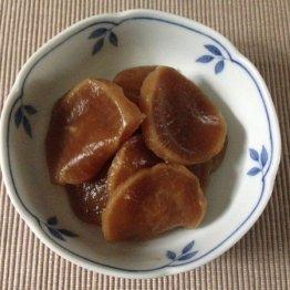 福井県のたくあんの煮たの