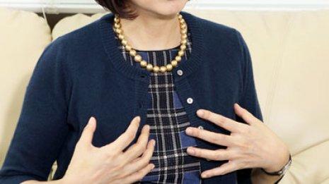 タレント 麻木久仁子(52)さん 乳がん ㊦