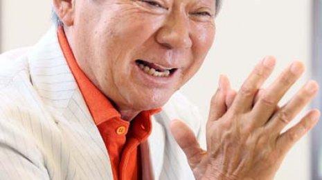 司会者 みのもんたさん (70) 脊柱管狭窄症 ㊤