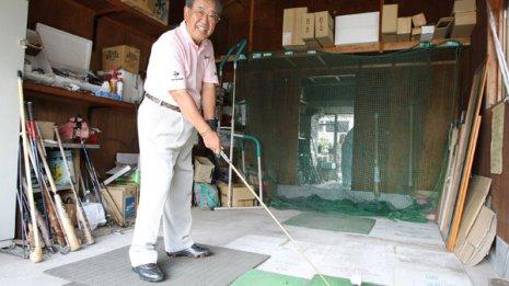 プロゴルファー 田原紘さん (72) 一過性脳虚血発作 ㊤