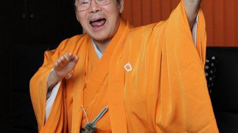 落語家 林家こん平さん (71) 多発性硬化症 ㊤