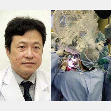 東京医科大学病院脳神経外科の秋元治朗教授
