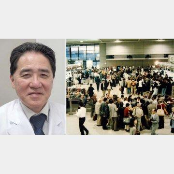 東京医科歯科大学病院・渡航者医療センター センター長・濱田篤郎教授