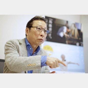 俳優の石倉三郎さん