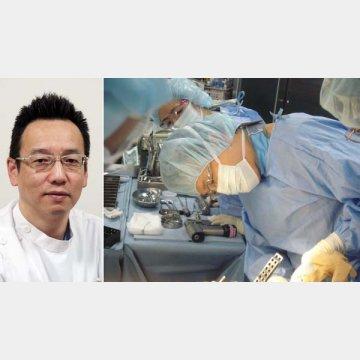 左は東京西徳洲会病院外傷センターの松村福広センター長