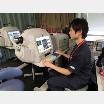 井上眼科病院のOCT検査