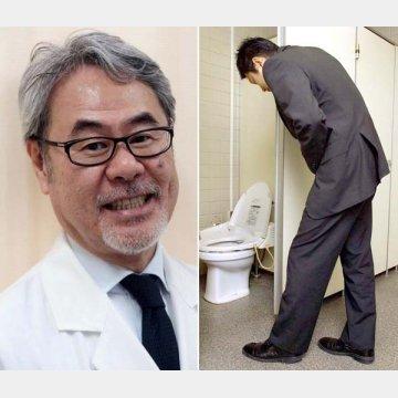 左は聖路加国際病院・ヘルニアセンター(東京都築地)の柵瀨信太郎センター長(日本ヘルニア学会理事長)