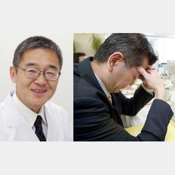 東大和病院・脳卒中ケアユニットの角田尚幸センター長(左)