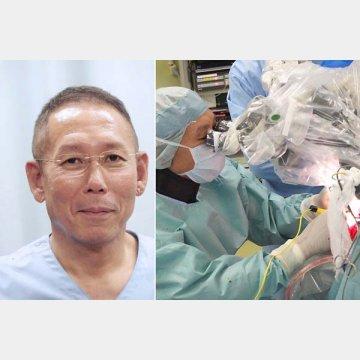 東京都立神経病院・脳神経外科のてんかん治療部門をまとめる森野道晴部長