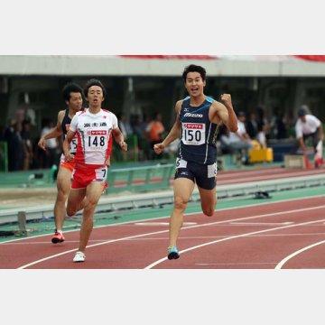 アスリートの心臓は良い心肥大(日本選手権男子200mで優勝した飯塚翔太)