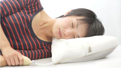 頭が冷えると知らないうちに眠っている…