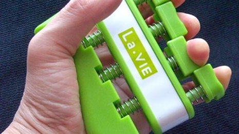 「La-VIEフィンガーグリップソフト」で指ごとに鍛える