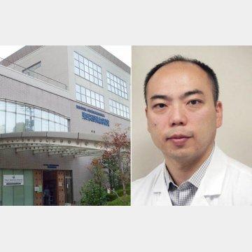 右は感染症専門医の岡秀昭部長
