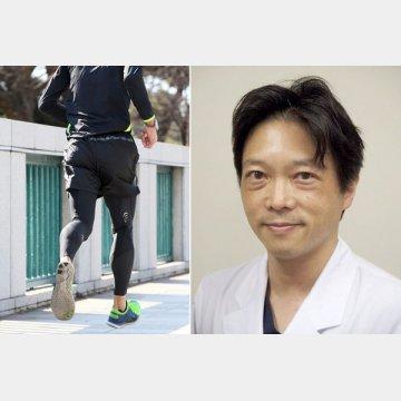 東京山手メディカルセンター・整形外科でスポーツ外来を担当する田代俊之医長(右)
