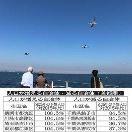川崎市は全区で人口増加も 千葉の太平洋側は10年後に1割減