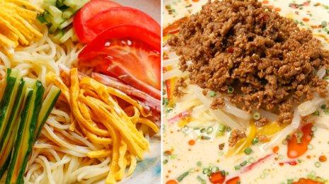 ダイエット中ならどっち? 冷やし担々麺vs冷やし中華