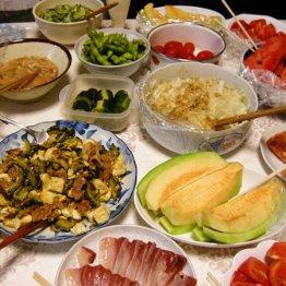 糖質オフ vs しっかりご飯食