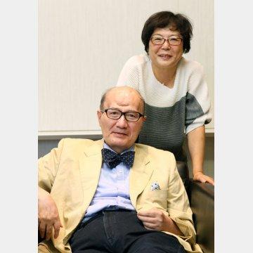 コラムニストの神足裕司さんと奥様