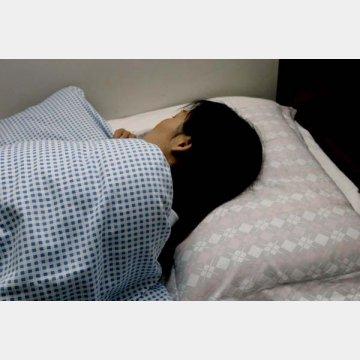 ぐっすり眠りたい(写真はイメージ)