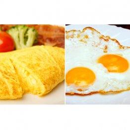 朝食の定番オムレツvs目玉焼き 痩せたい人に向くのは?