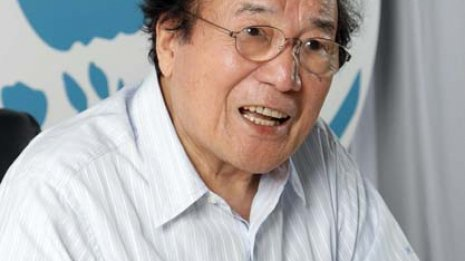 2015年4月に肺がんで亡くなった俳優・愛川欽也さん