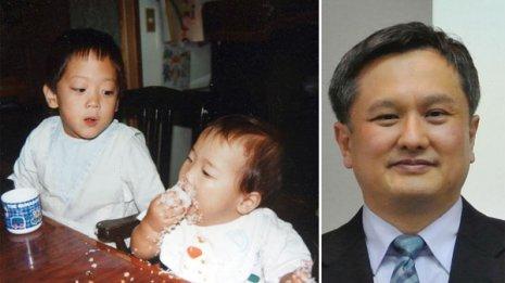 次女(左写真手前)は生後11カ月から実験に参加(右)黒沢院長