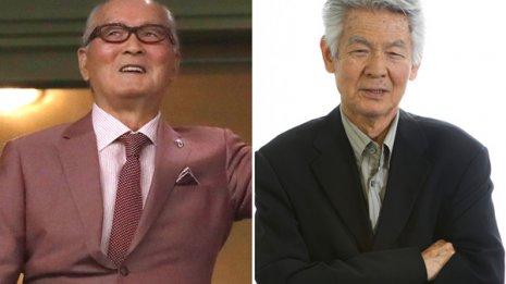 長嶋茂雄さん(左)と故・菅原文太さん
