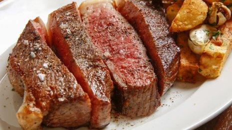 肉を食べたときは…