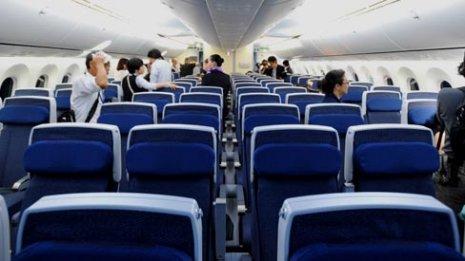 飛行機内で感染リスクのもっとも高い座席はどこだ?