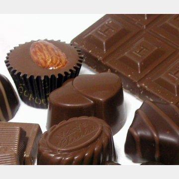 カカオポリフェノールが豊富なチョコを