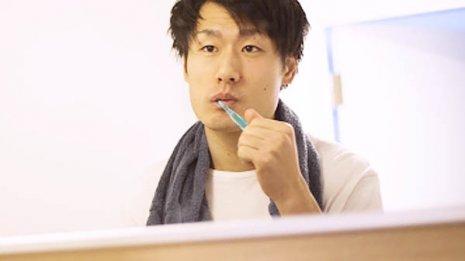 正しい歯磨きと併用
