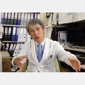 順天堂大学医学部付属順天堂医院の天野篤前院長