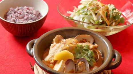 【アサリの納豆チゲ】微生物と発酵のパワーで生活習慣病予防
