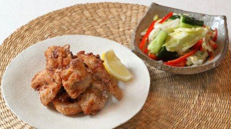 【鳥の唐揚げ】鶏肉のカルノシンで体の酸化や糖化を抑える
