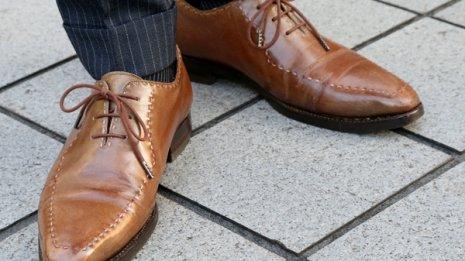 いい靴とは履きにくくて重い靴 大事なのは楽に歩けるか