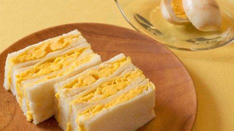 ふわふわ卵サンドは薄味だからこそ塩分を控えて豊富な栄養素をいただく