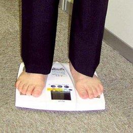 データを自動的に取り込む IoTでの健康管理に適した体重計