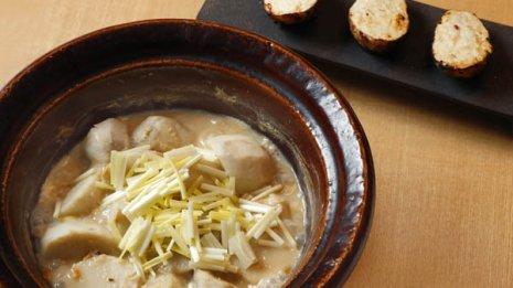 里芋は皮付近の豊富な栄養とうま味を逃さないこと