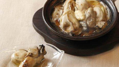 牡蠣には余計な塩分加えずにうま味を味わい生活習慣病改善