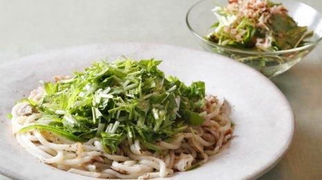 野菜の長さを切り揃えて酸化防止 調味料も最小限で済む