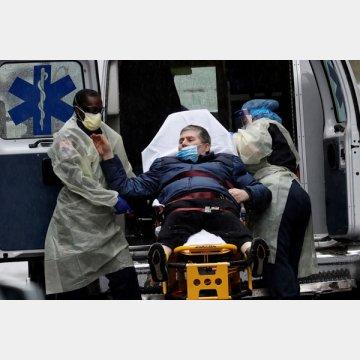 ニューヨーク市の救急病院に搬送される患者