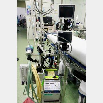重症の肺炎患者の治療に使われるECMO(エクモ)/