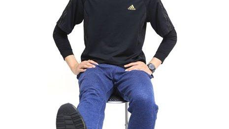 何歳になっても楽に歩くために膝をしっかりと動かす体操を