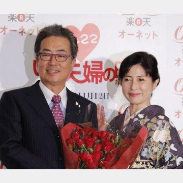 夫の大和田獏は「残念で信じがたい」とコメント