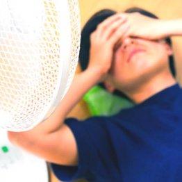 神経障害で熱中症に…汗をかきにくく対応調節ができない