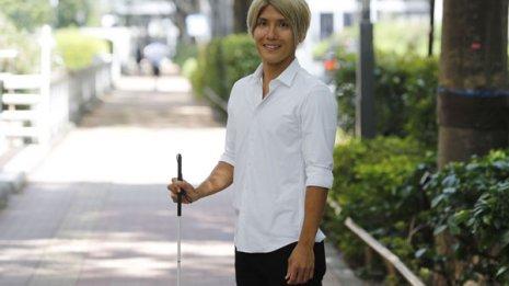 サッカー選手の松本光平さん 外傷性の両眼の障害との闘い