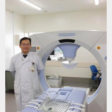 ハイパーサーミア治療器(サーモトロン─RF8)と千葉聡肝胆膵外科主任医長